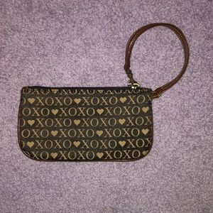 XOXO brown and black wristlet. OFFERS WELCOME!